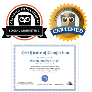 Hootsuite Certified Social Marketing Proffessional